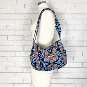 Vera Bradley Blue Shoulder Bag in Marrakesh Print